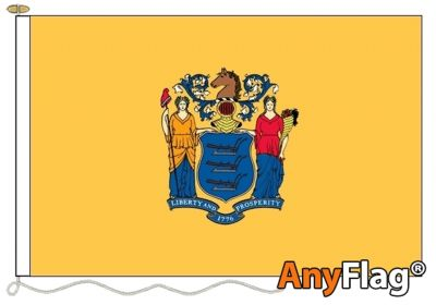 NEW JERSEY ANYFLAG RANGE - VARIOUS SIZES